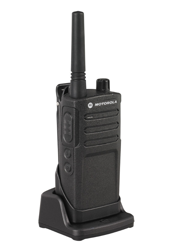 Motorola PMLN6394A Charger with RM Series Two Way Radio